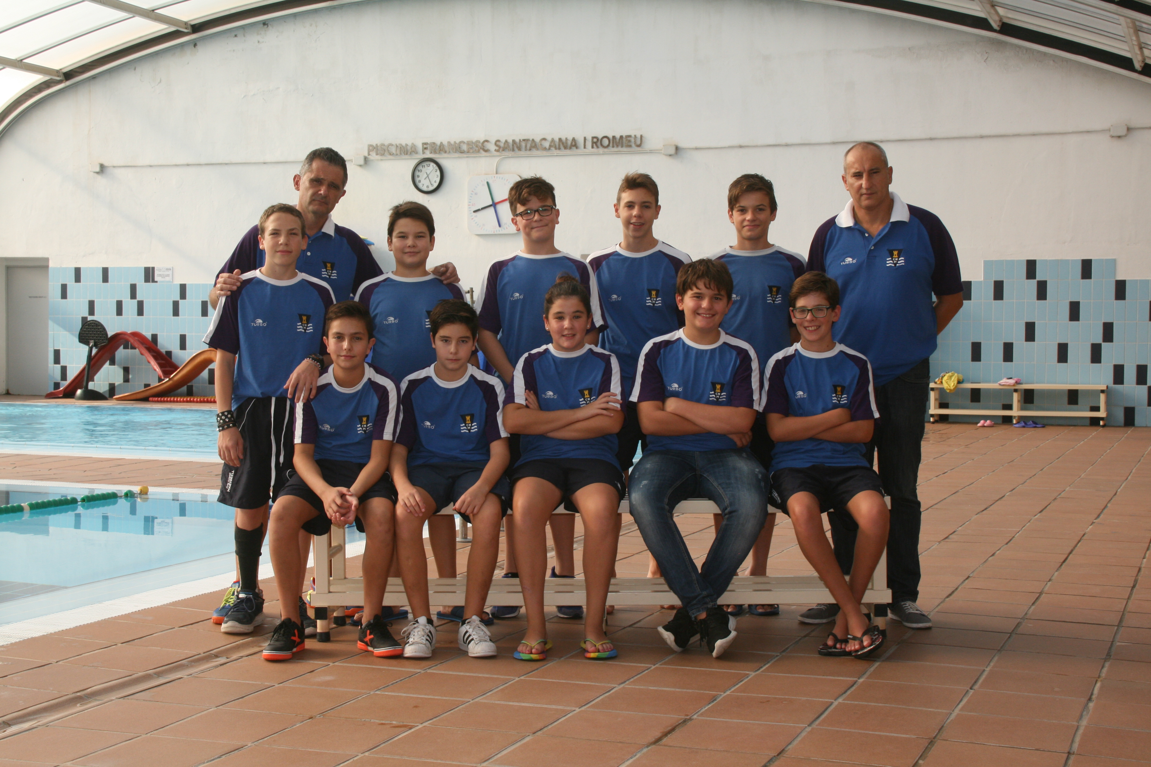 Waterpolo infantil club nataci martorell for Piscina martorell